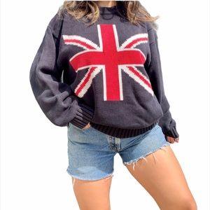 """VINTAGE TOMMY HILFIGER """"UK FLAG"""" SWEATER 🔥"""